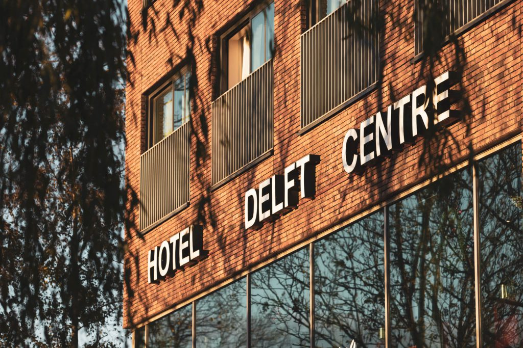 Greenstay hotel in Delft